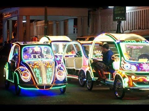 Becak Lampu Alkid Wisata Malam Yogyakarta Night Life Alun Kidul