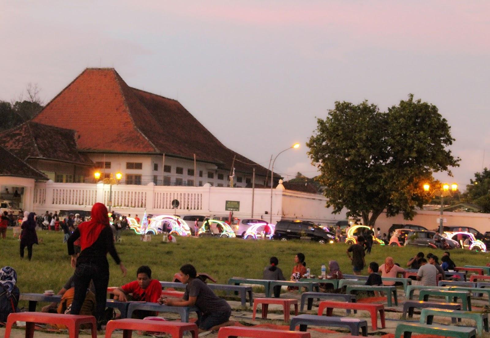 Diari Loveheaven07 Pemandangan Indah Alun Kidul Yogyakarta Kota