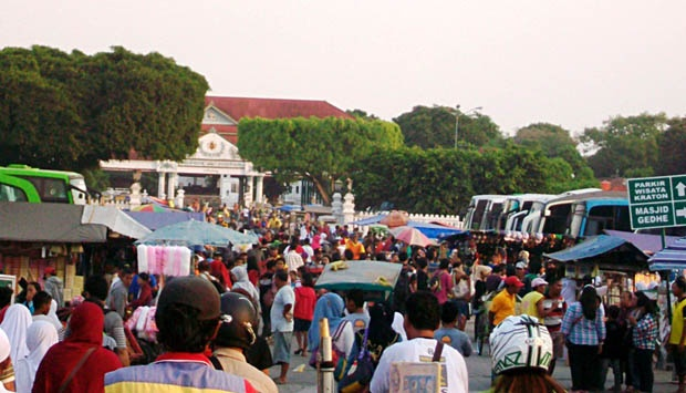 Digilir Waktunya Pedagang Alun Yogya Gelisah Travel Tempo Wisatawan Memadati