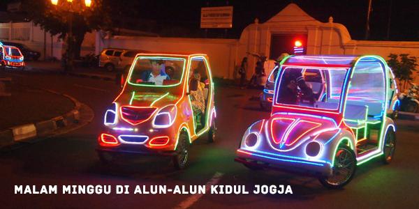 Malam Minggu Alun Kidul Jogja Wisata Yogyakarta Kota
