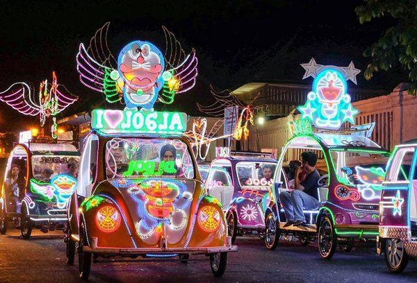Pesona Wisata Malam Alun Selatan Yogyakarta Alkid Jogja Kidul Kota