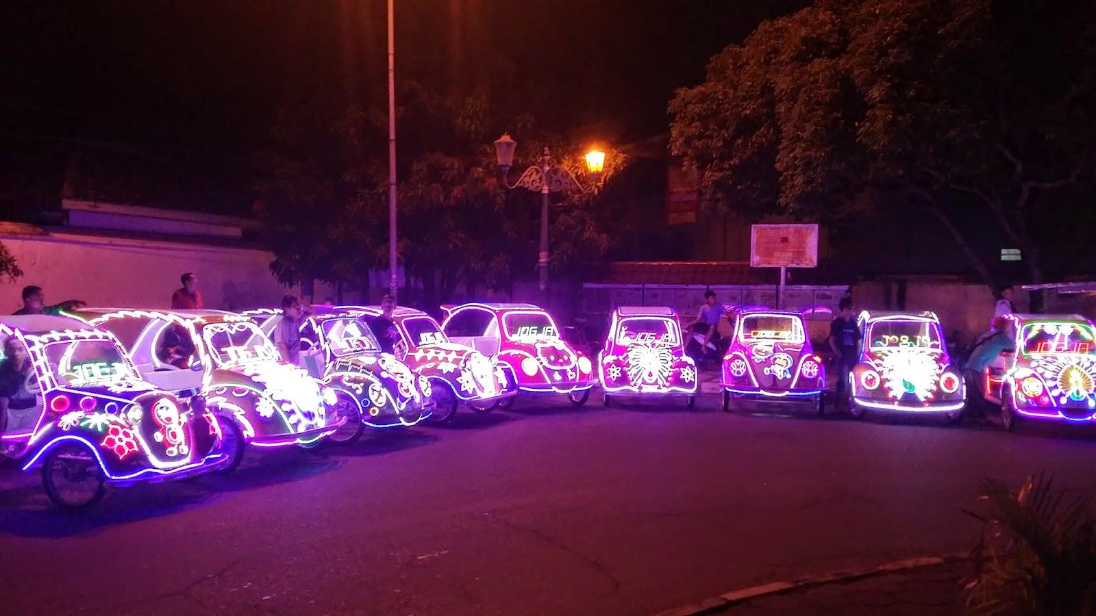 Wisata Malam Alun Kidul Yogyakarta Jejak Tak Berujung Berbagai Sepeda