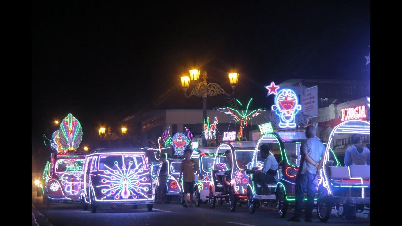 Wisata Yogyakarta Mobil Hias Alun Selatan Dilarang Ngintip Kidul Kota