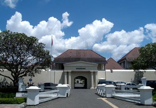 Benteng Vredeburg Beteng Perdamaian Wisata Manifestasi Terjaga Hingga Kota Yogyakarta