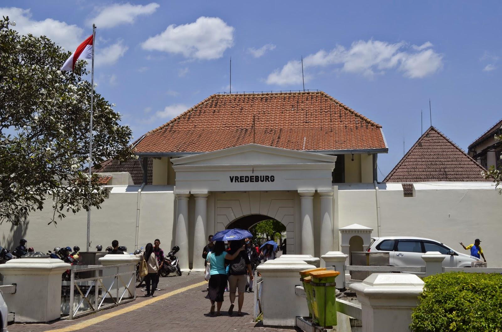 Berkeliling Museum Benteng Vredeburg Yogyakarta Bluepacker Indonesia Gerbang Utama Kota