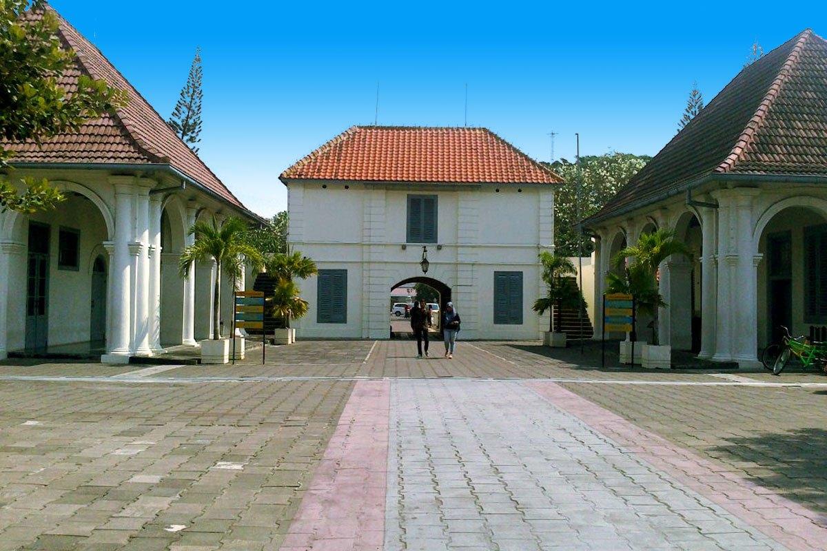 Fort Vredeburg Museum Yogyakarta Places Interest Benteng Kota