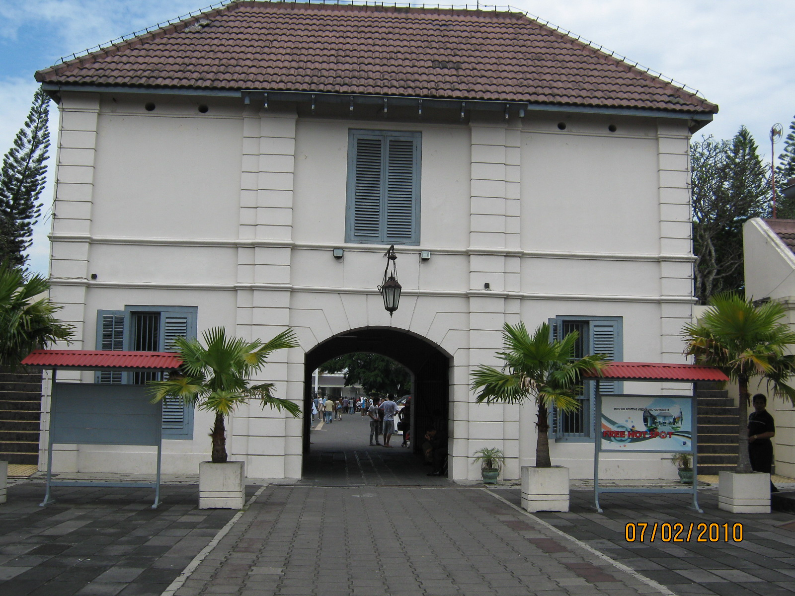 Museum Benteng Vredeburg Jogjakarta Tanah Kavling Perumahan Kawasan Malioboro Tidak