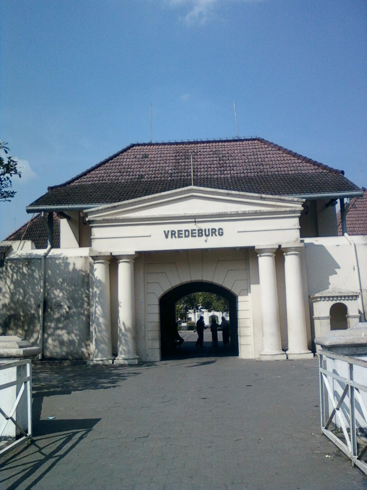 Museum Benteng Vredeburg Jogjakarta Wartasurakarta Terlihat Arah Timur Monumen Serangan