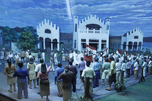 Museum Benteng Vredeburg Yogyakarta Yogya Gudegnet Salah Satu Diorama Kota