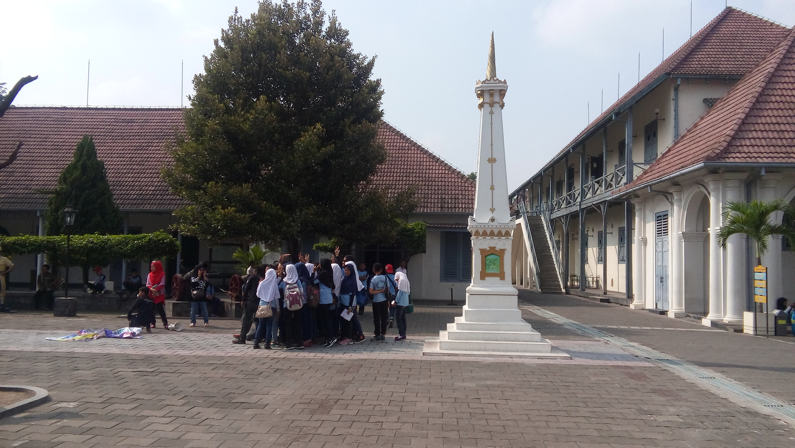 Pengunjung Museum Benteng Vredeburg Yogyakarta Ramai Awal 2016 Kunjungan Kota