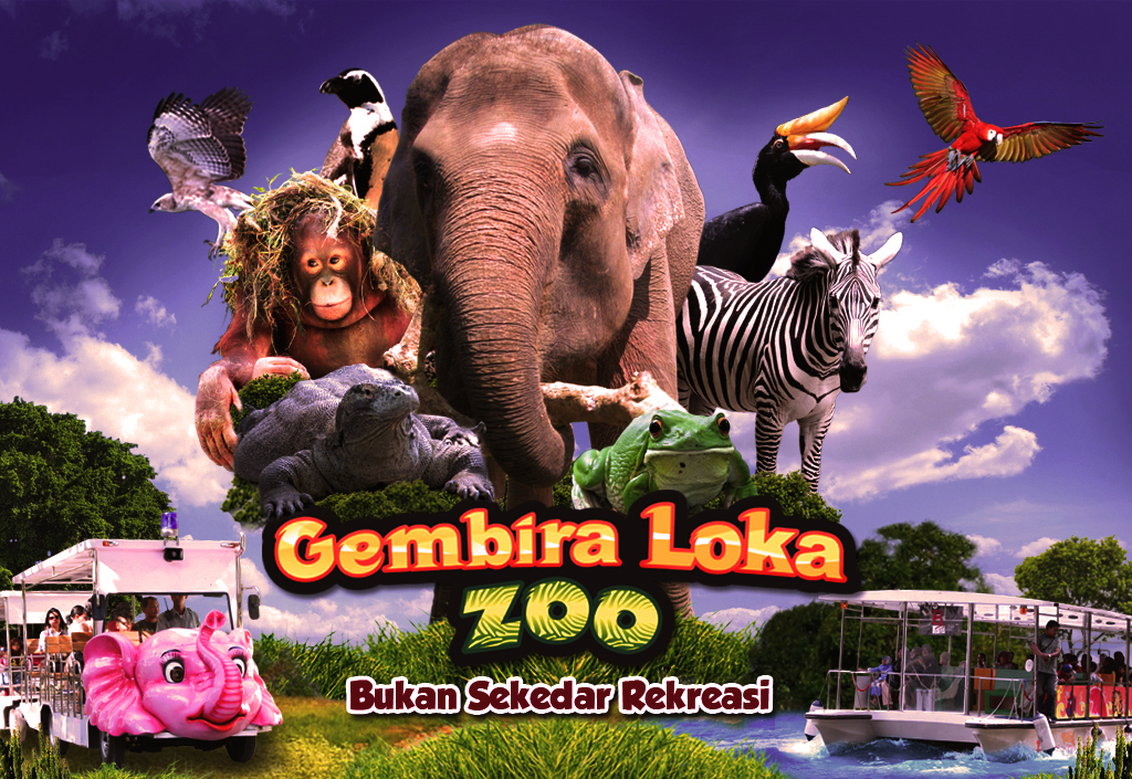 Kebun Binatang Gembira Loka Zoo Java Guest Bonbin Yogyakarta Kota