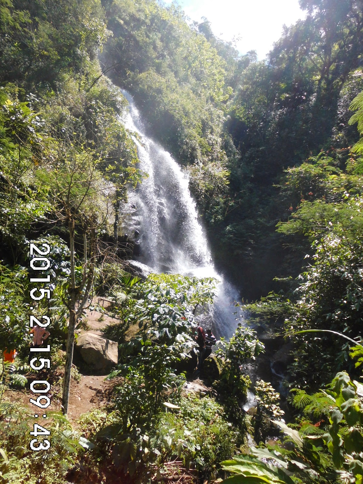 Wisata Alam Budaya Air Terjun Grojogan Watu Jonggol Kebun Lokasi