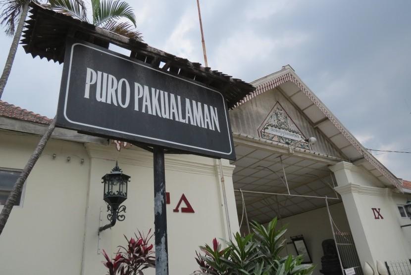 Pkl Puro Pakualaman Ditertibkan Republika Online Masjid Besar Kota Yogyakarta