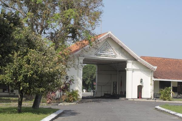 Pura Pakualaman Yogya Gudegnet Gerbang Bagian Masjid Besar Kota Yogyakarta