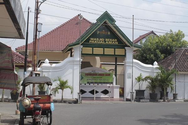 Pura Pakualaman Yogya Gudegnet Masjid Agung Besar Kota Yogyakarta