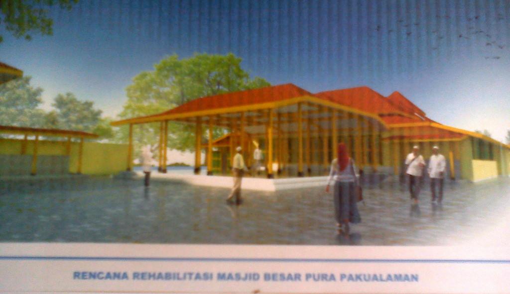 Yogyakarta Projects Development Page 1726 Skyscrapercity Revitalisasi Masjid Besar Pakualaman