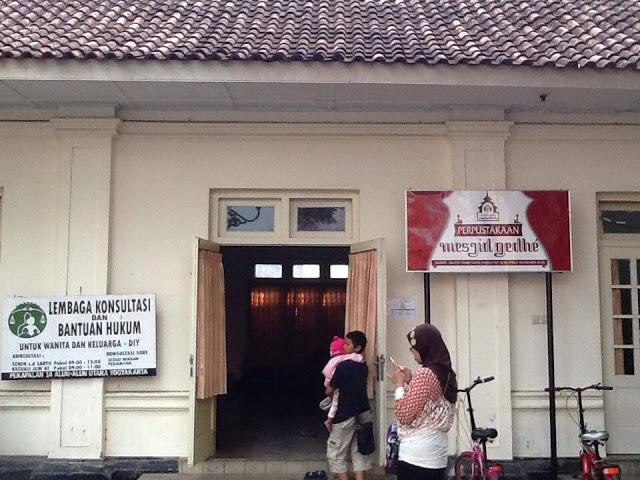 Dolan Perpustakaan Masjid Gedhe Kauman Yogyakarta Teman Bisa Langsung Meminta