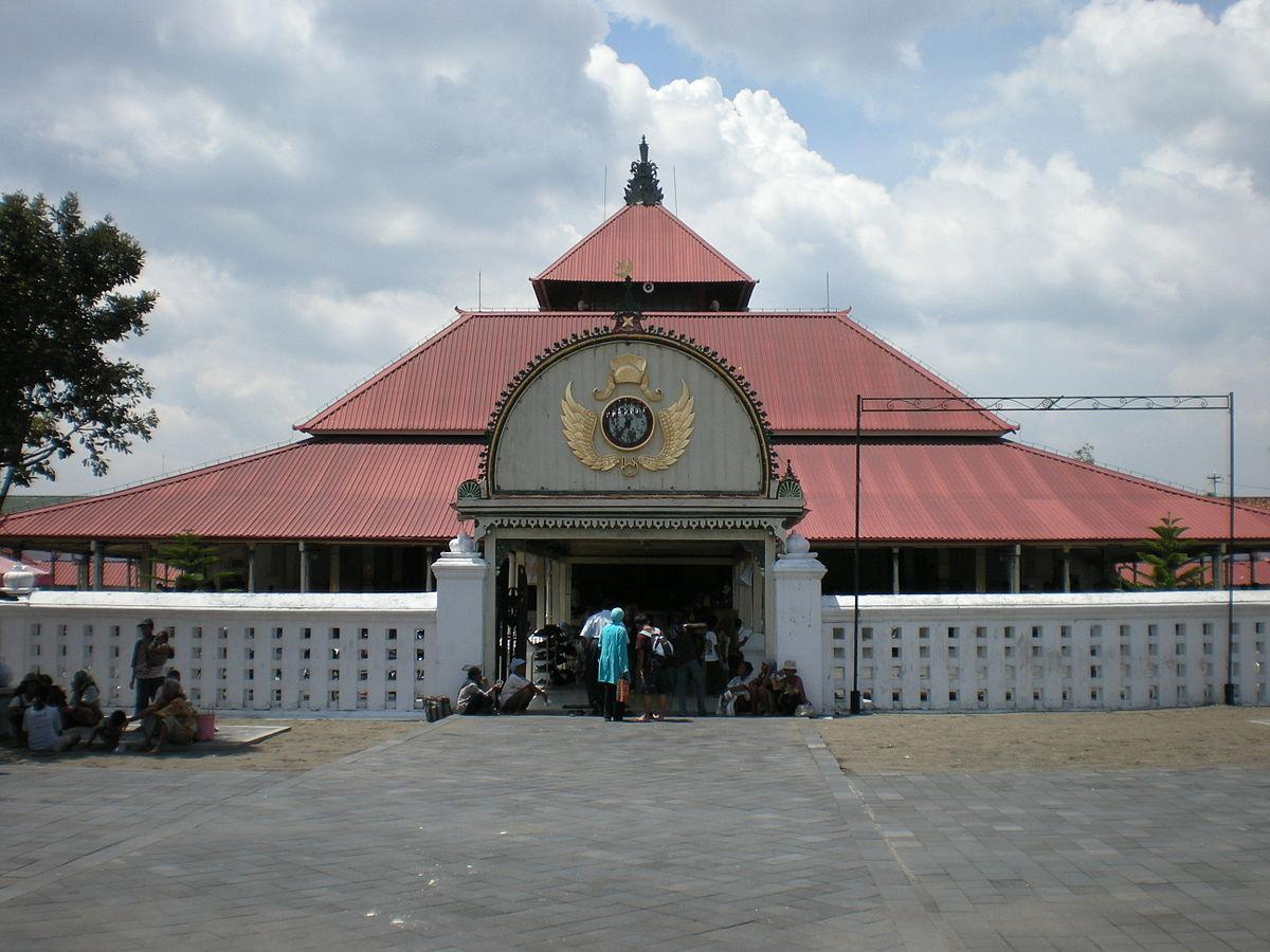 Kauman Great Mosque Wikipedia Masjid Gedhe Kota Yogyakarta