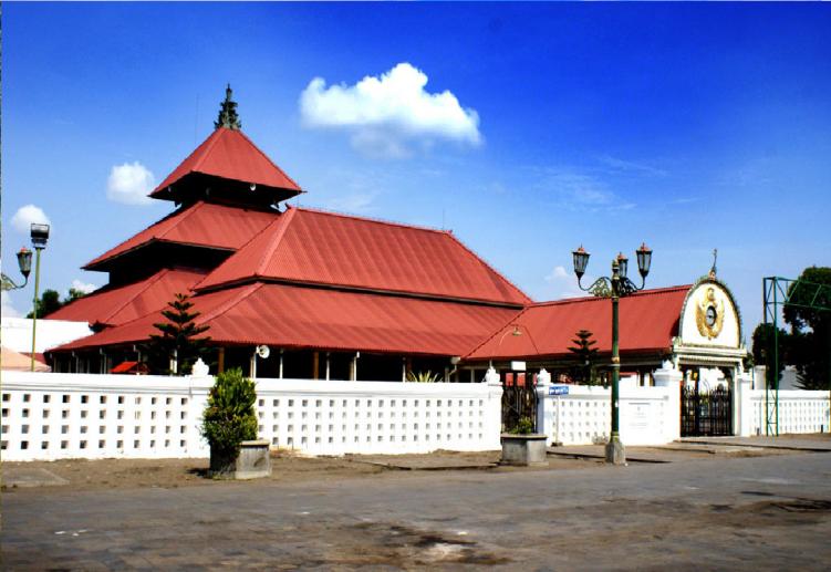 Masjid Gede Kauman Saksi Bisu Perkembangan Kraton Yogyakarta Gedhe Kota