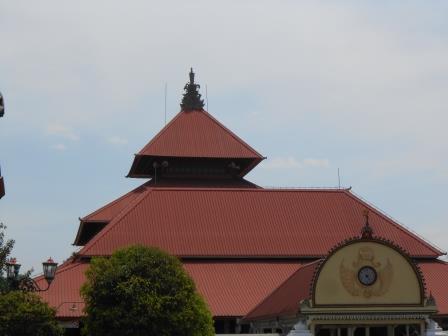 Masjid Gedhe Kauman Bangunan Bersejarah Umat Islam Yogyakarta Kota