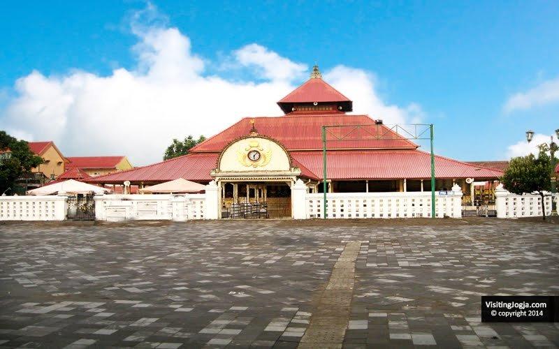 Masjid Gedhe Kauman Jogja Transport Kota Yogyakarta