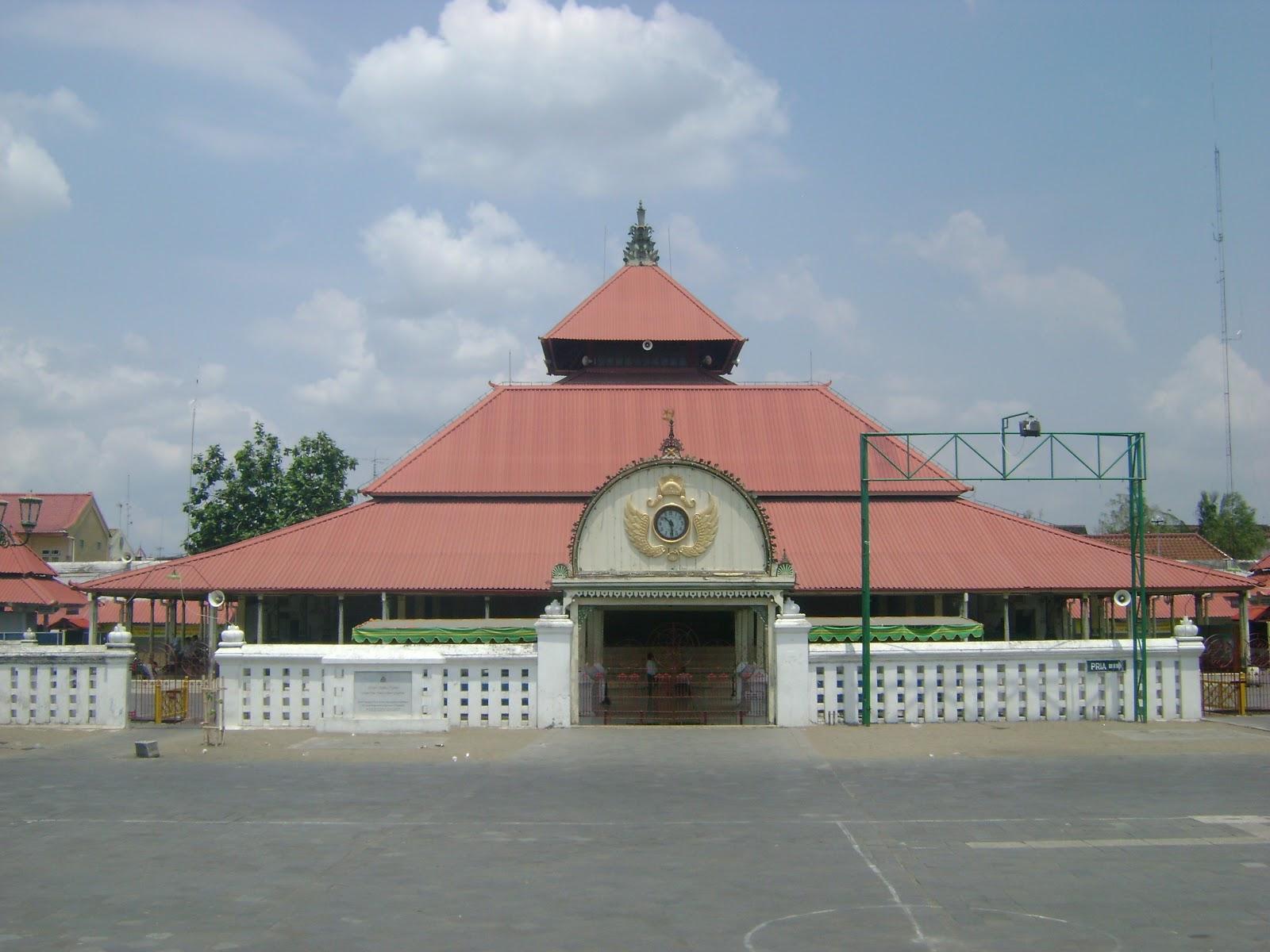 Masjid Gedhe Kauman Kekunaan Kota Yogyakarta