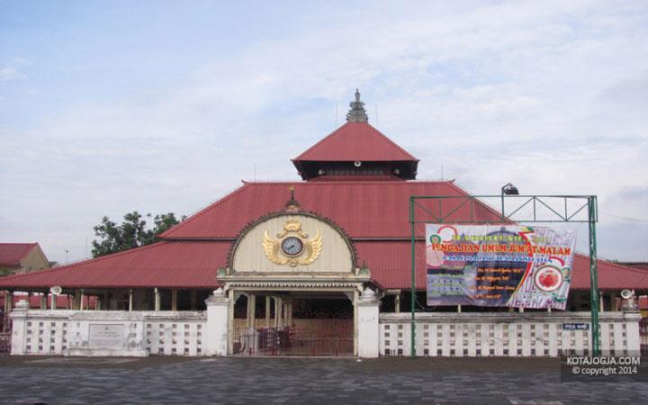 Masjid Gedhe Kauman Kotajogja Kota Yogyakarta