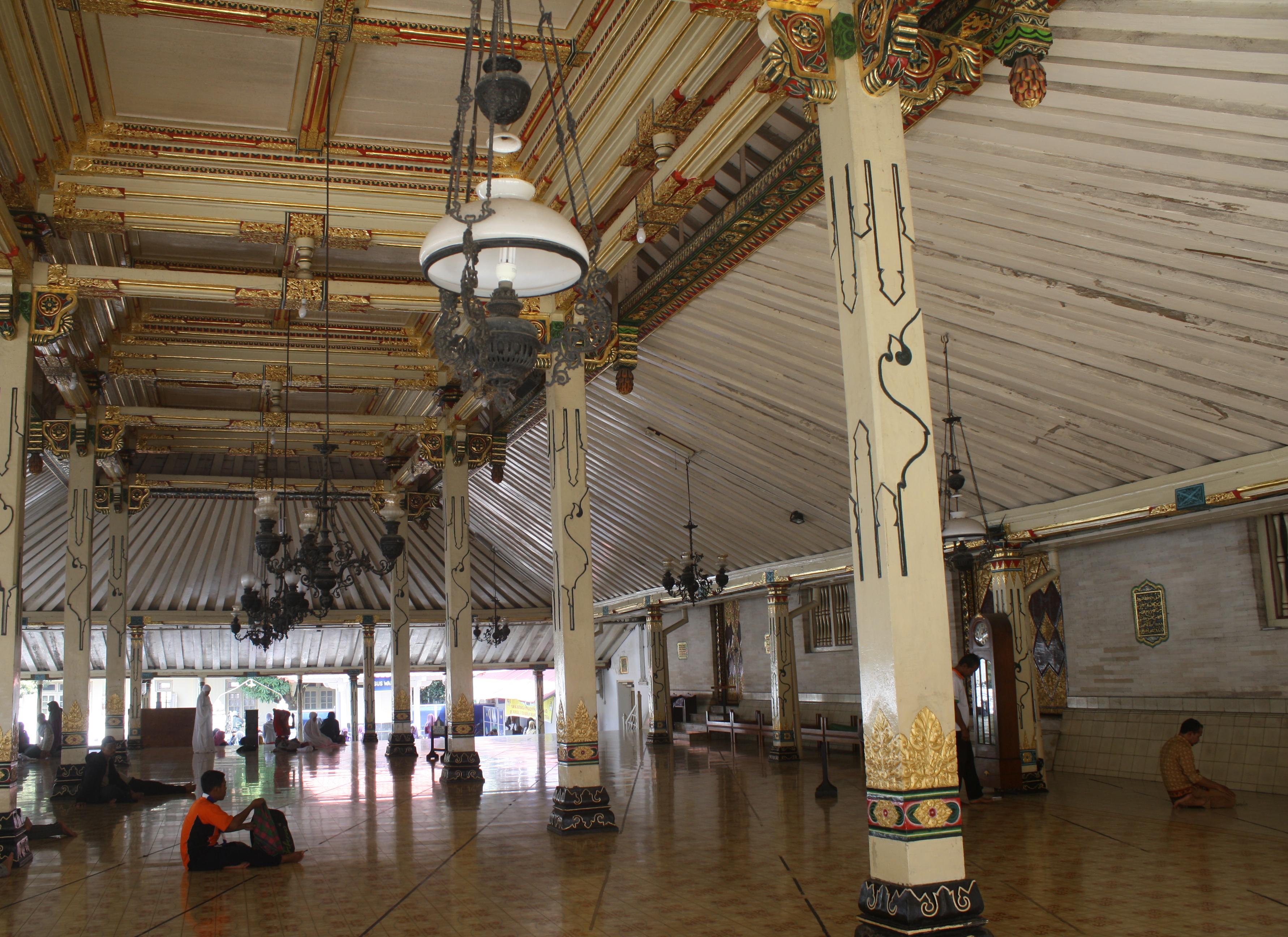 Masjid Gedhe Kauman Yogyakarta Jogja Serambi Kota