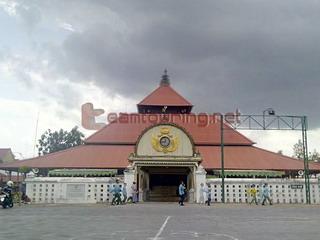 Masjid Gedhe Kauman Yogyakarta Teamtouring Depan Kota