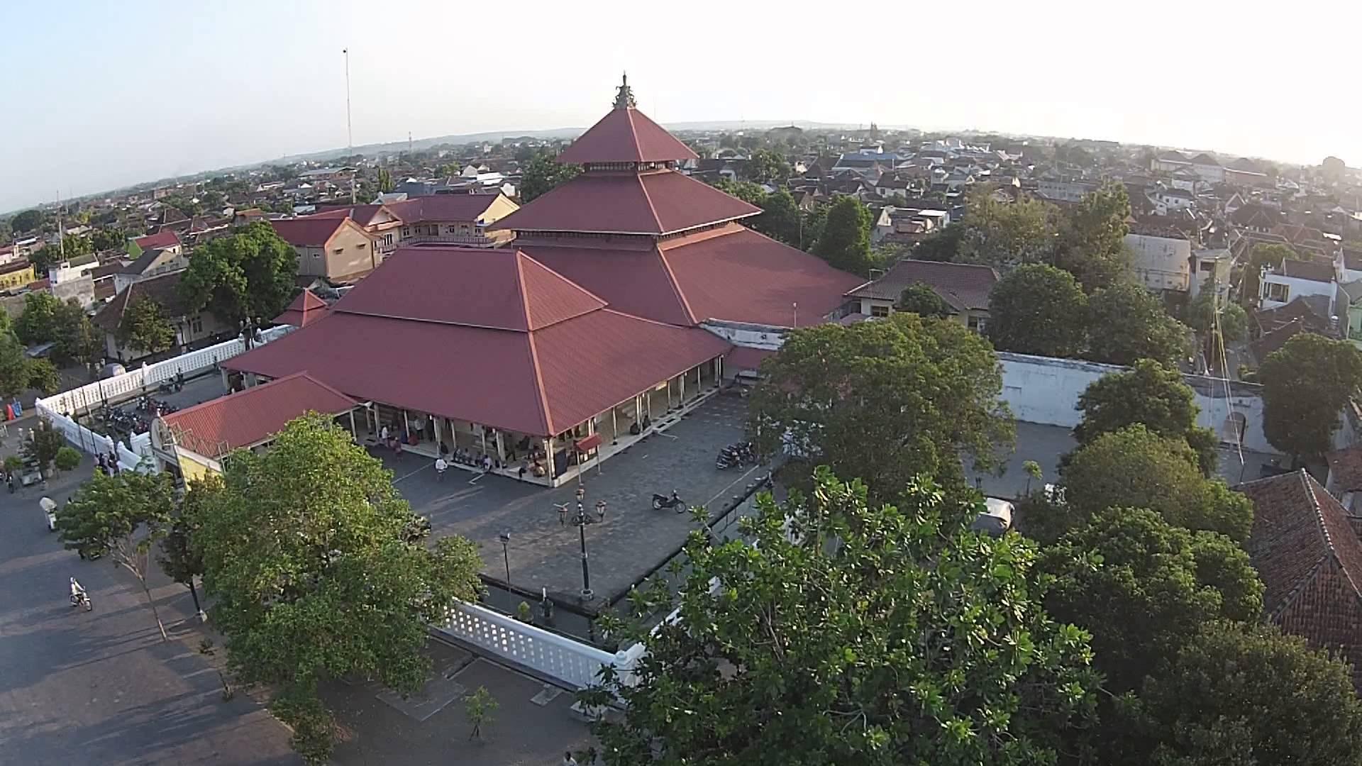 Masjid Gedhe Kauman Yogyakarta Youtube Kota