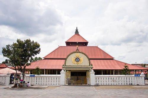 Masjid Gedhe Yogyakarta Wisata Jogja Gede Kauman Kota