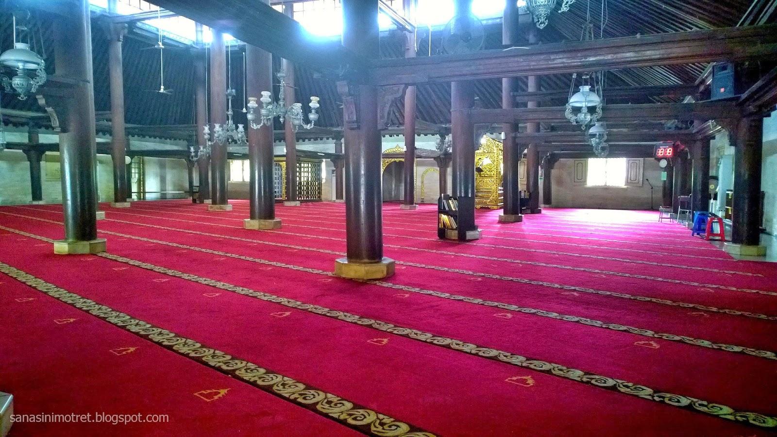 Motret Masjid Gedhe Kauman Yogyakarta Teman Berkunjung Jogja Jalan Kraton
