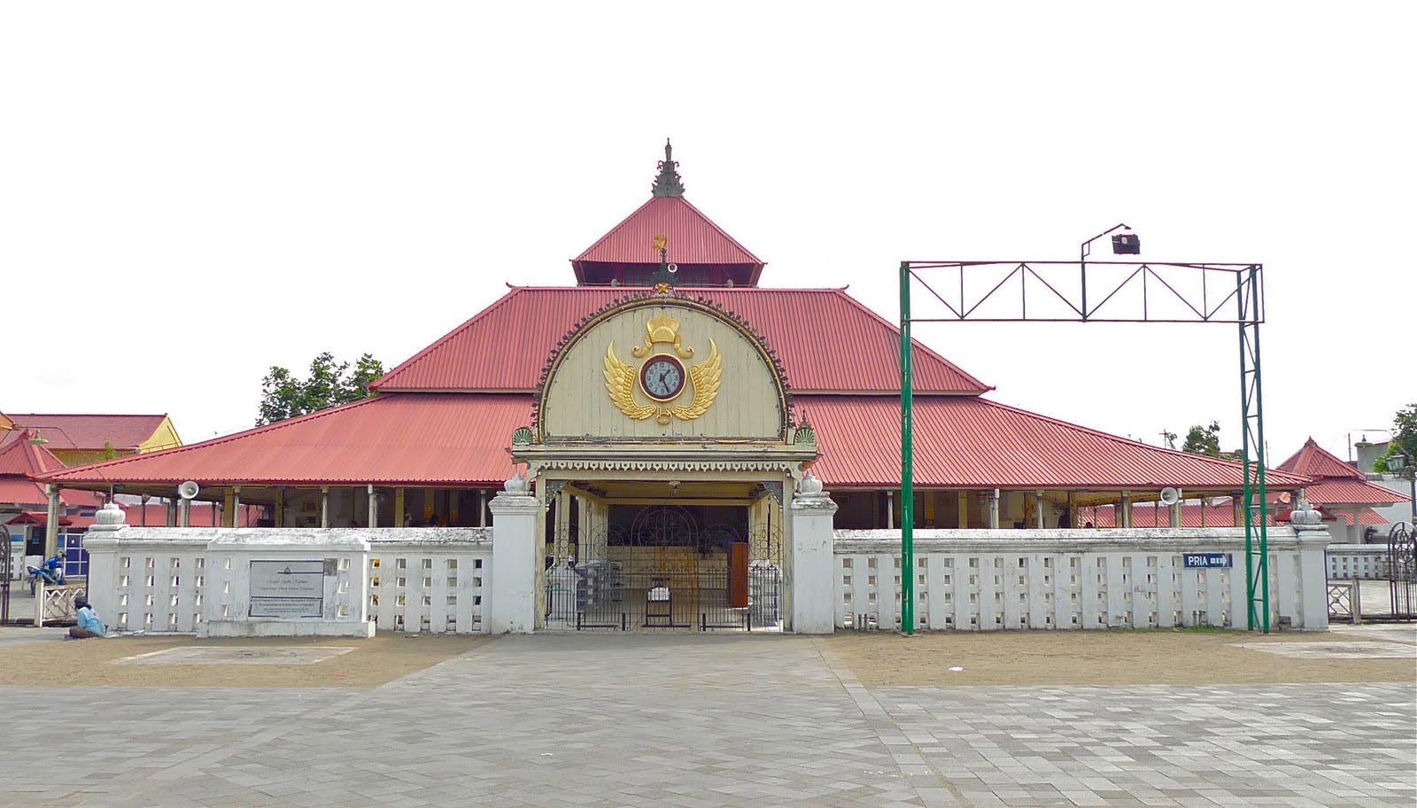 Wisata Religi Masjid Gedhe Kauman Yogyakarta Pariwisata Kota