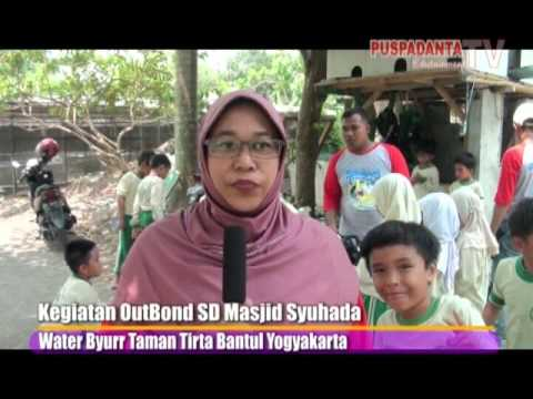 Kegiatan Outbond Sd Masjid Syuhada Water Byurr Tirtatamanasari Bantul Yogyakarta