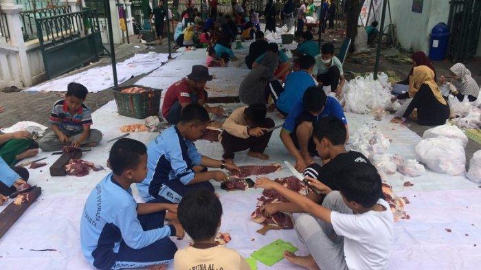 Masjid Syuhada Ajak Anak Belajar Lewat Perayaan Idul Adha Kota