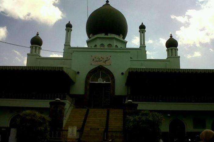 Masjid Syuhada Yogyakarta Perpaduan Nasionalisme Nilai Islami Terletak Daerah Kota