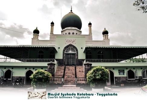Rindu Masjid Syuhada Kotabaru Jogjakarta Dibangun Perpaduan Arsitektural Kubah Bawang