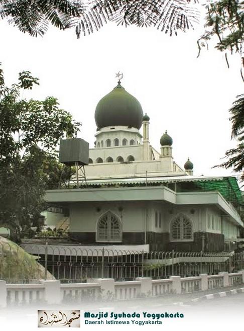 Rindu Masjid Syuhada Kotabaru Jogjakarta Yogyakarta Dibangun Mengenang Kemerdekaan Gugur