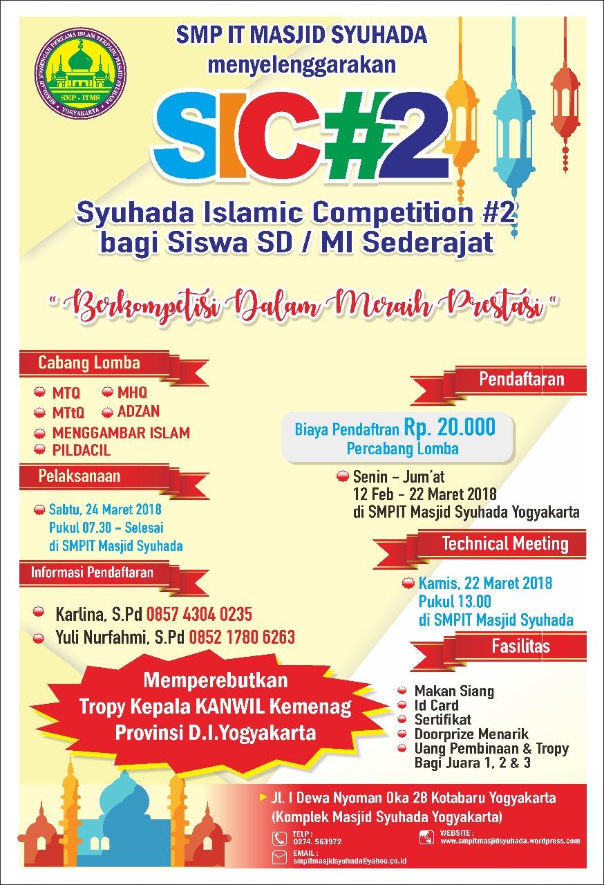 Syuhada Islamic Competition 2 Masjid Kota Yogyakarta