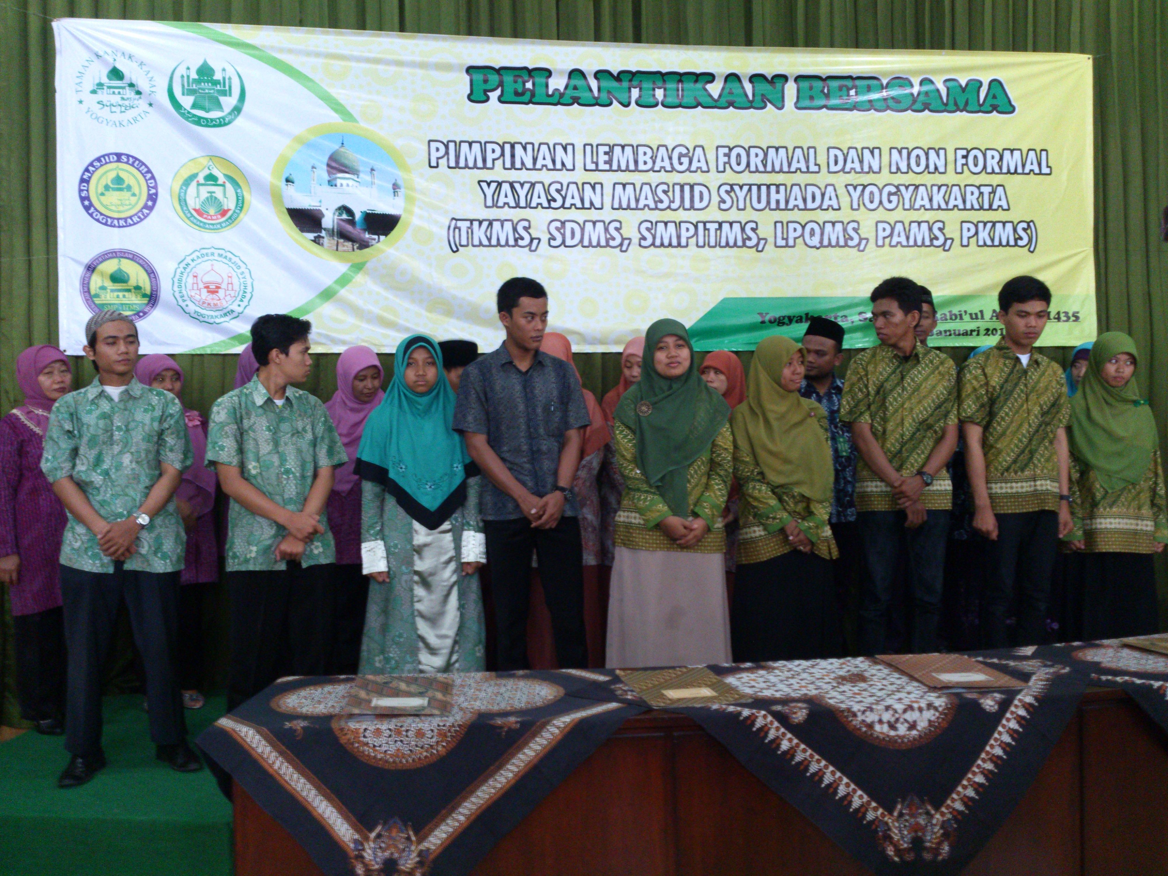Tk Masjid Syuhada Pelantikan 3 Kota Yogyakarta