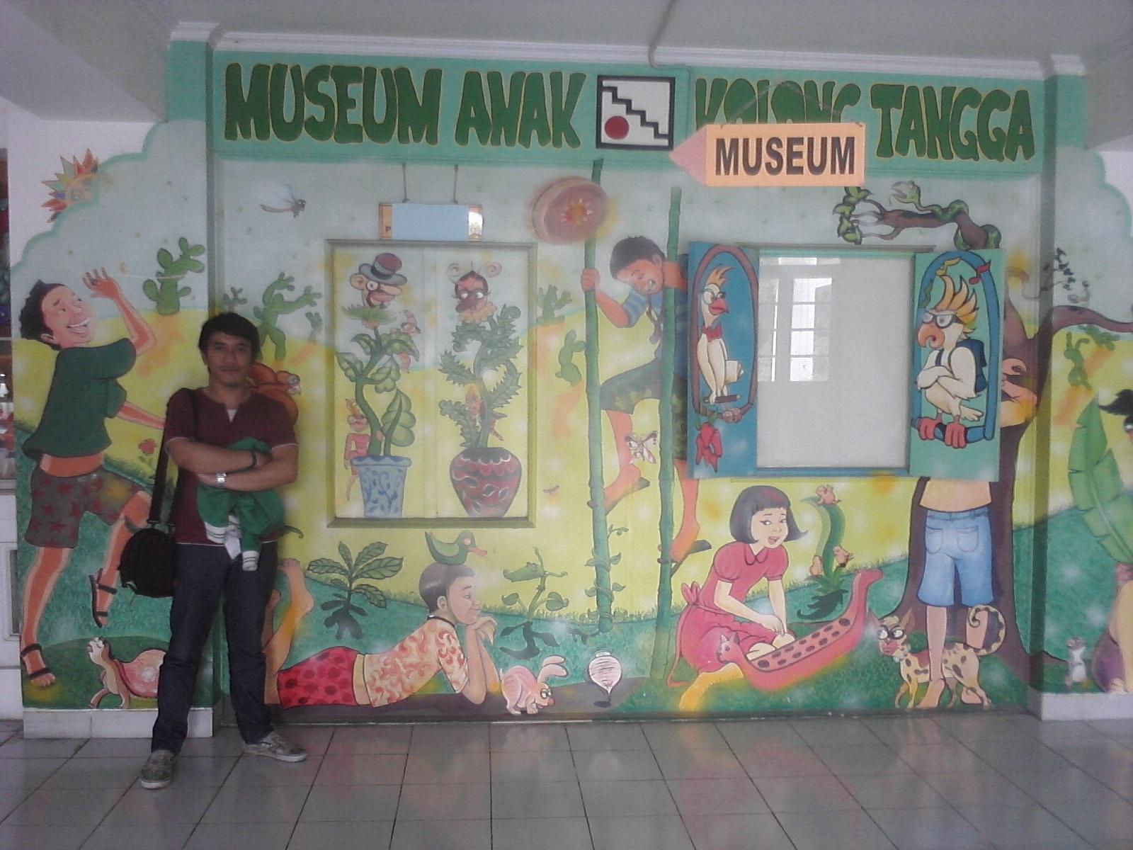 Brahma Adjie Jalan Jogja Museums Review Depan Museum Anak Kolong