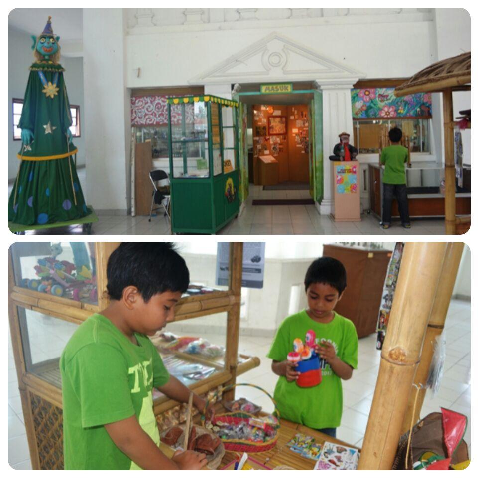 Museum Anak Kolong Tangga Surau Inyiak Kota Yogyakarta