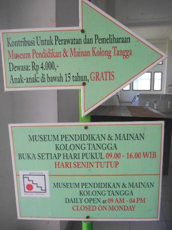 Museum Anak Kolong Tangga Yogyakarta 2018 Kota