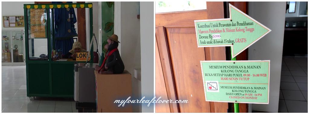 Museum Anak Kolong Tangga Yogyakarta Fourleafclover Berbentuk Persegi Empat Memanjang