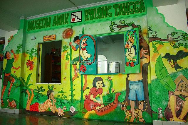 Museum Mainan Anak Kolong Tangga Kids Holiday Spots Liburan Kota