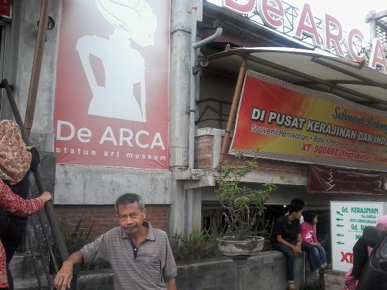 Profile Museum De Arca Depan Picture Kota Yogyakarta
