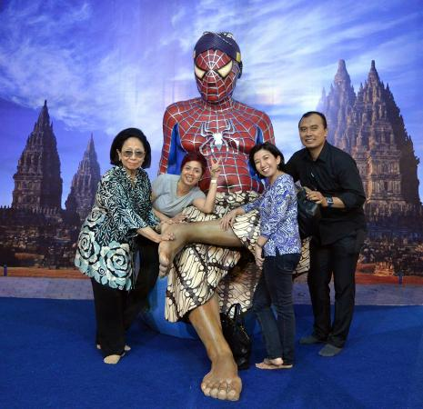 Spiderman De Arca Museum Jogja Picture Kota Yogyakarta