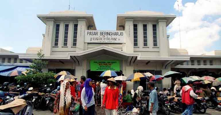 Beringharjo Pasar Tradisional Terkenal Indonesia Jogja Bringharjo Kota Yogyakarta