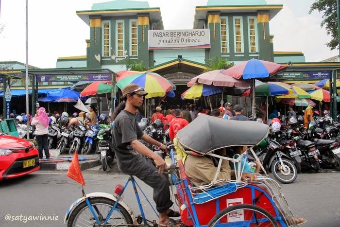 Blusukan Pasar Beringharjo Yogyakarta Travel Journal Satya Bringharjo Kota