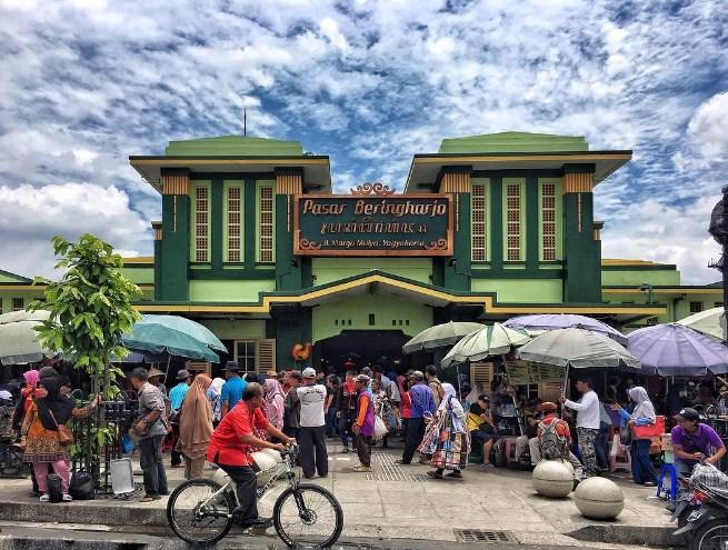 Menjelajahi Pasar Beringharjo Terbesar Yogyakarta Bringharjo Kota
